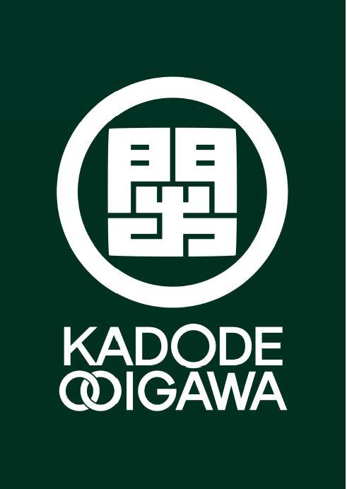 「KADODE OOIGAWA」ロゴ