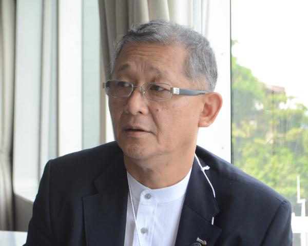 長浜観光協会岸本一郎会長