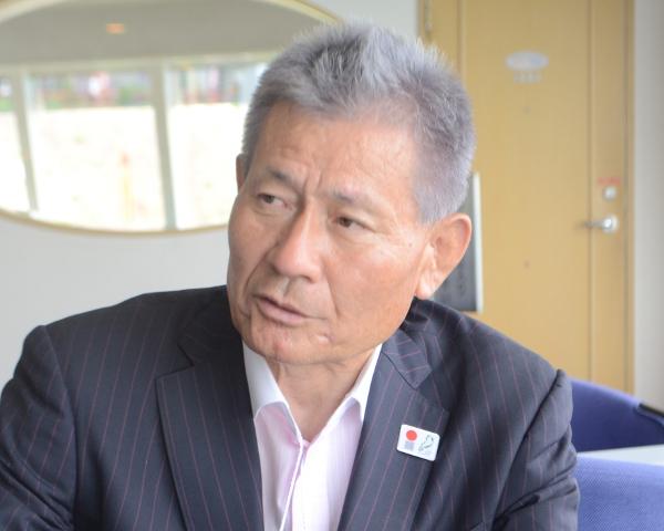 奥びわ湖観光協会山本清蔵会長