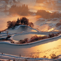 SNS映えする冬の新潟