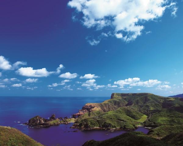 国賀海岸と摩天崖