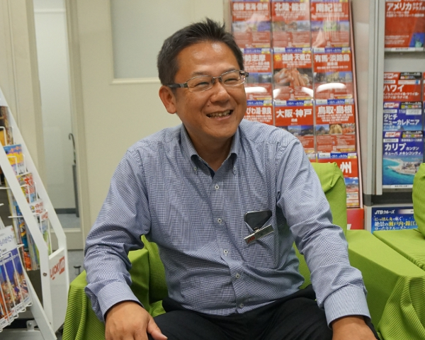 JTB西日本営業部西川太郎部長