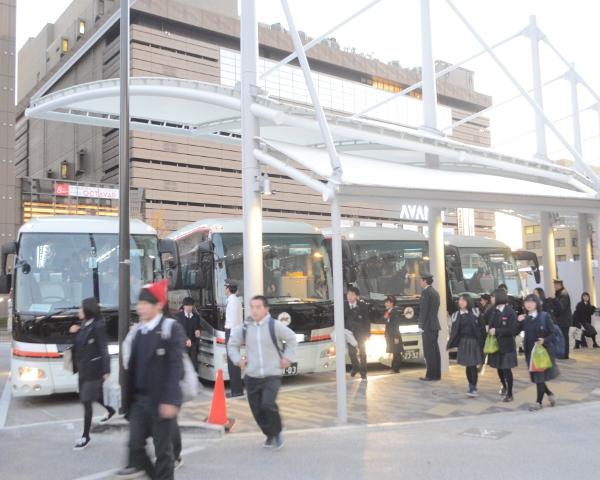 京都駅八条口貸切バス乗降場