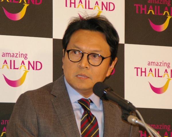タネー ス・ペッスワン・タイ国政府観光庁副総裁