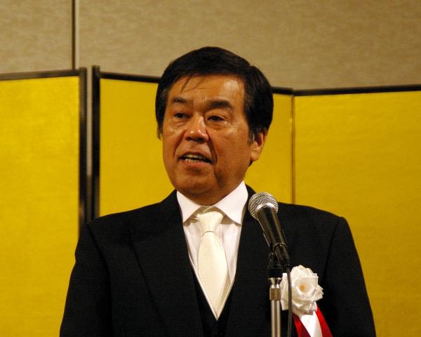 山形県旅館ホテル生活衛生同業組合佐藤信幸理事長