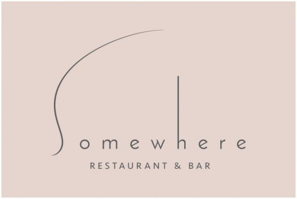 SOMEWHERE RESTAURANT & BARロゴ