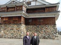 福知山市長とクリス・ペプラーさん