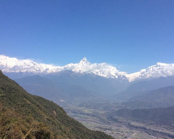 ヒマラヤ山脈マチャプチャレ