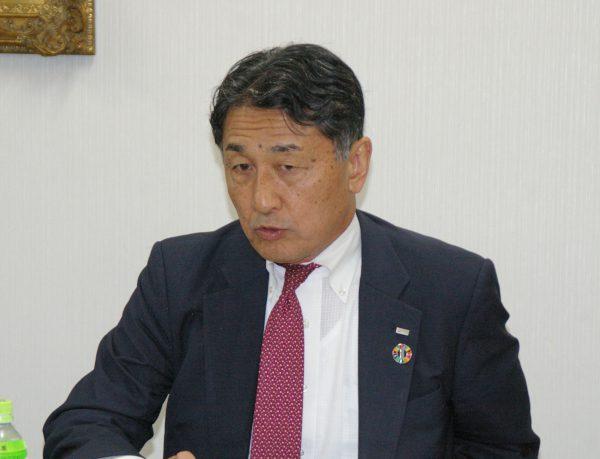 日本旅行・堀坂社長
