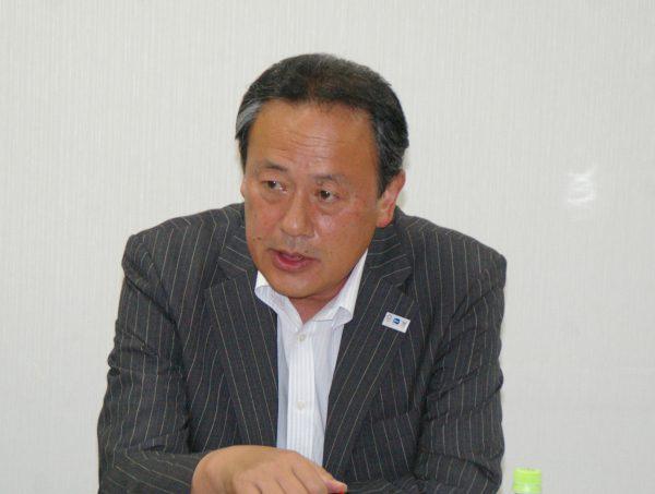 KNT―CT・田ヶ原常務