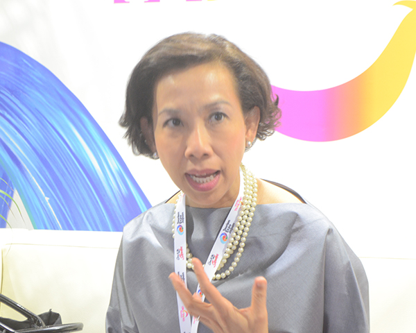 タイ国政府観光庁・東アジア局のティティポーン・マニーネート局長