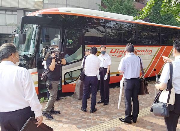 熊本県旅行業協会バス旅行実証実験