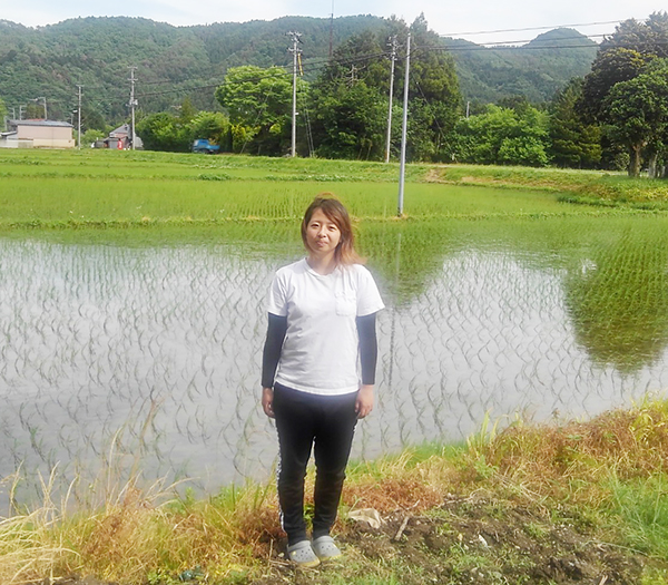 農業女子の遠藤亜美さん