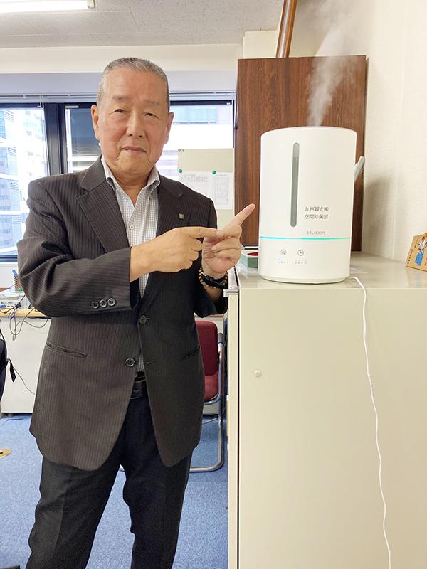 九州観光旅館連絡会・松瀬裕二代表