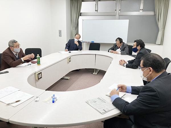 日本観光施設協会役員とJTBスタンプ会会長が会談