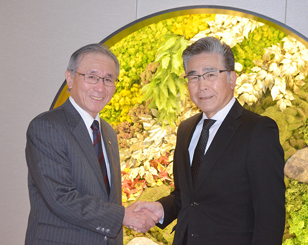 石旅協・北会長と全旅連・多田会長が対談
