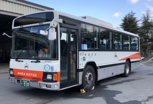 奈良交通・日野ブルーリボンⅡトップドア車
