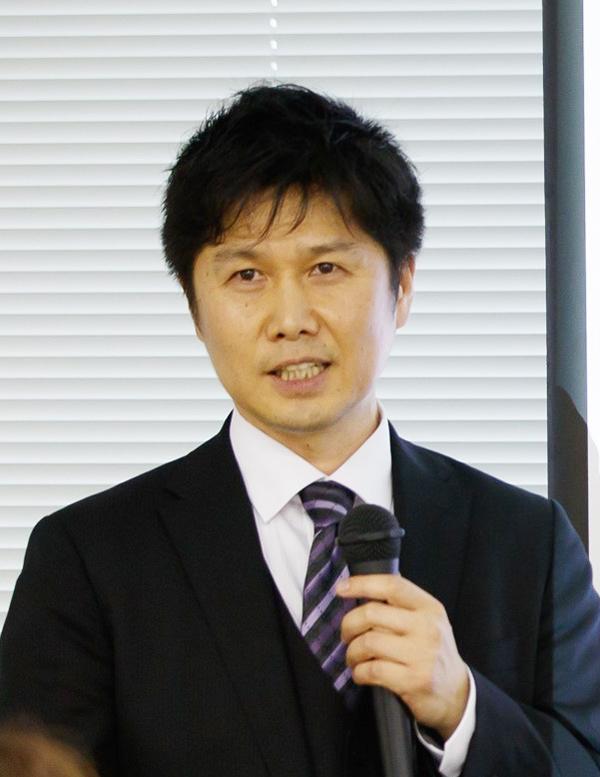 ティグレ業務部副部長坂本健一郎さん
