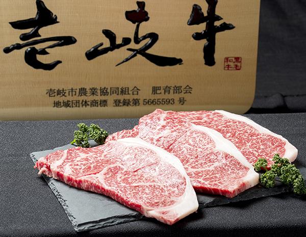 壱岐牛のステーキ