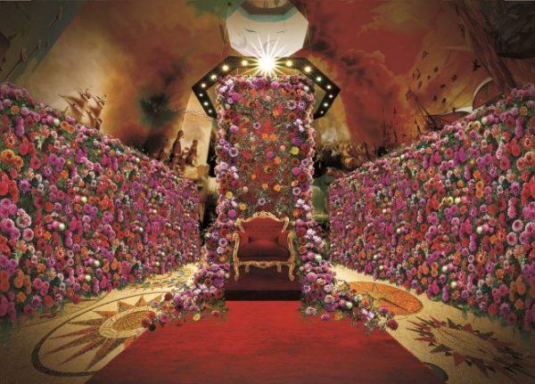 2万本のダリアの宮殿