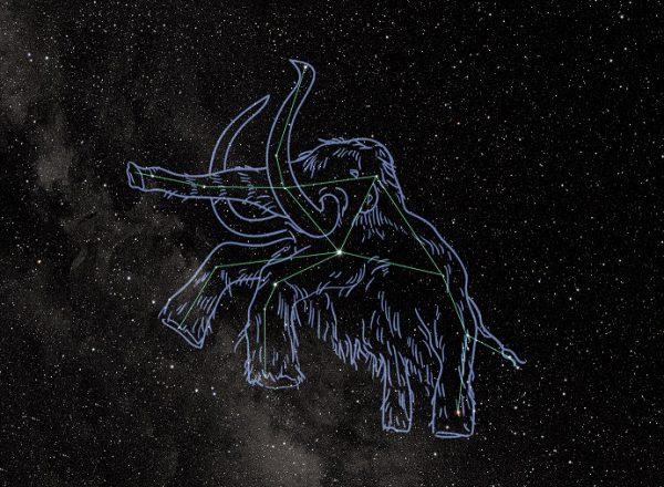 50万年前の星空
